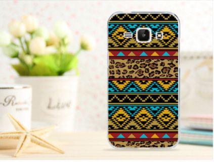 Чехол для Samsung Galaxy Ace 3/ S7270/ S7272/ S7275 панель накладка с рисунком орнамент