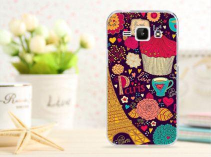 Чехол для Samsung Galaxy Ace 3/ S7270/ S7272/ S7275 панель накладка с рисунком paris love