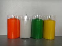 Свічка подарункова кольорова