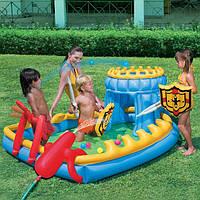 Новый надувной игровой центр BESTWAY 52169 « Осада замка»