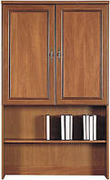 Шкаф для белья (надставка - 90) Виктор орех аоста темный (BRW TM)