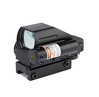 Прицел коллиматорный голографический + лазерный целеуказатель 1x22x33, 5mW