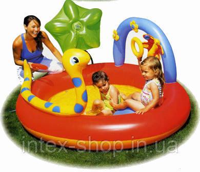 Детский бассейн Bestway с распылителем 193 х 150 х 89см 53026