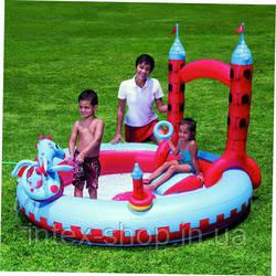 """BESTWAY Игровой центр """"Замок Дракона"""", 221х193х150см. Детский надувной бассейн: 53037 , фото 2"""
