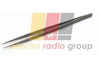 Пінцет монтажний Pro'sKit TZ-200SF, прямий, титановий, 165 мм