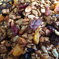 Гранола, фруктово-ореховая колбаса