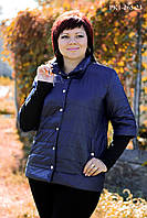 Куртка  прямого  силуэта, стеганая,  на  синтепоне  46-52 размеры, фото 1