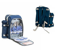 Набор для пикника KingCamp PICNIC BAG-4 (Blue) KG3711