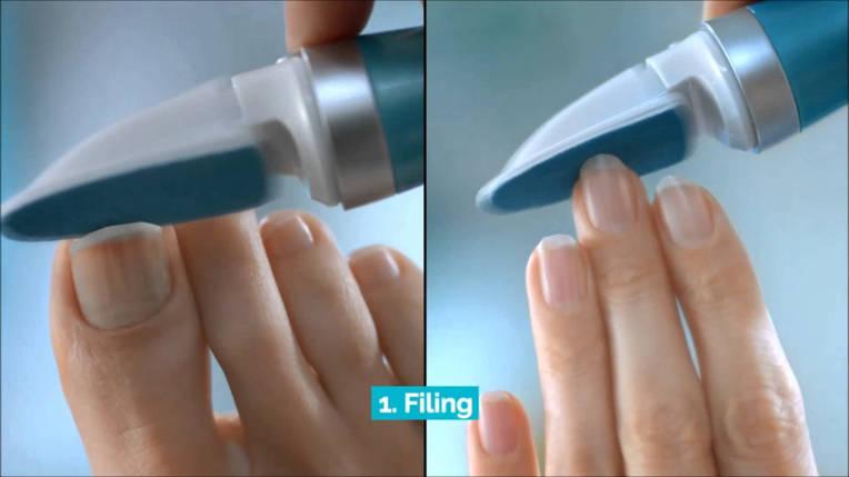 Scholl - электрическая роликовая пилка для ногтей, фото 2