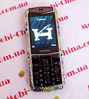 Копия Vertu Herems C19, 1Sim  - стильный женский телефон, фото 1