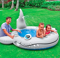 """Детский надувной бассейн """"Акула"""" Intex 57433"""