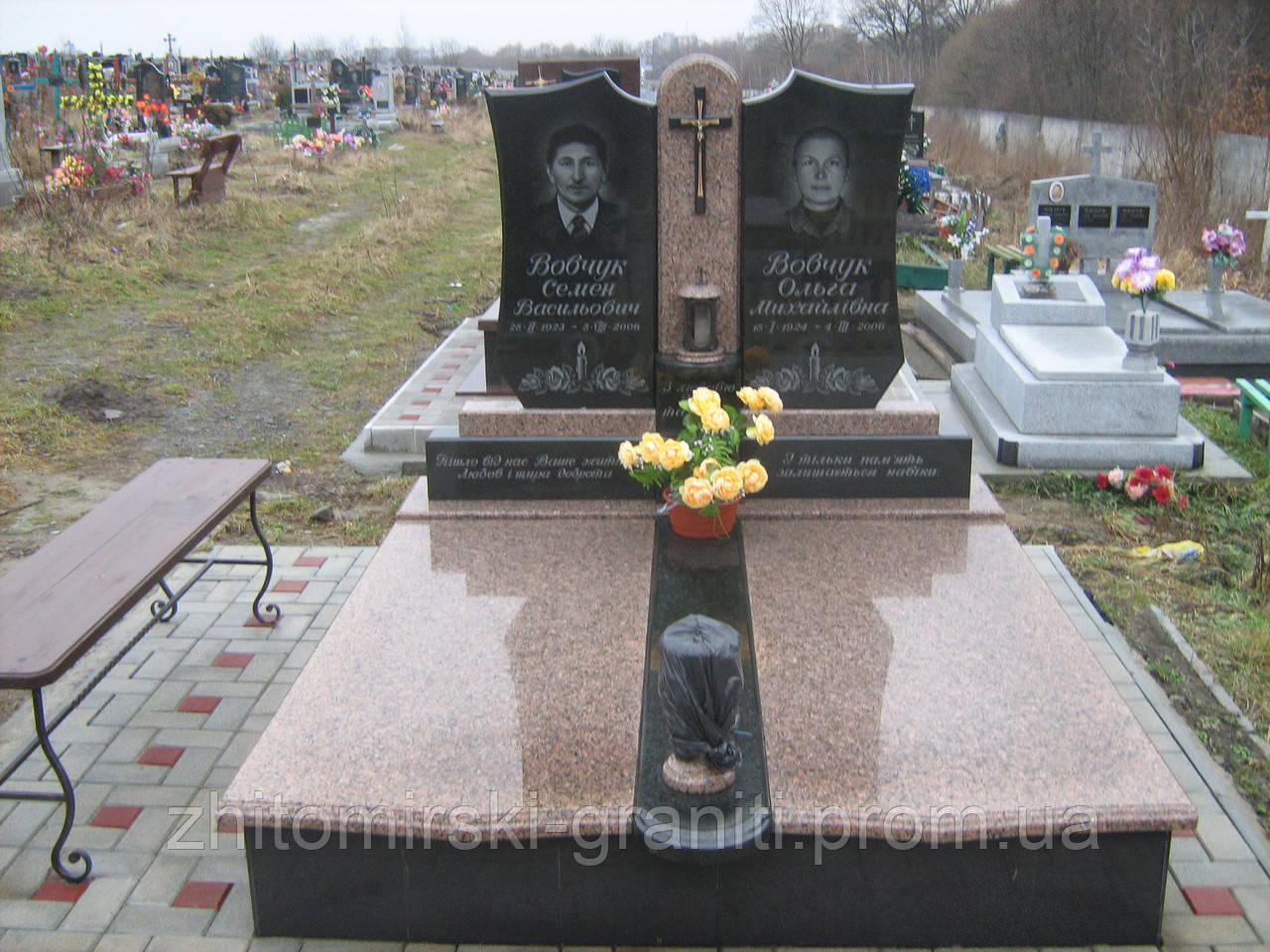 Подвійний пам'ятник фото 2