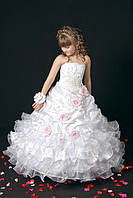 Нарядное платье Silk Road 0148 122-128 см белое