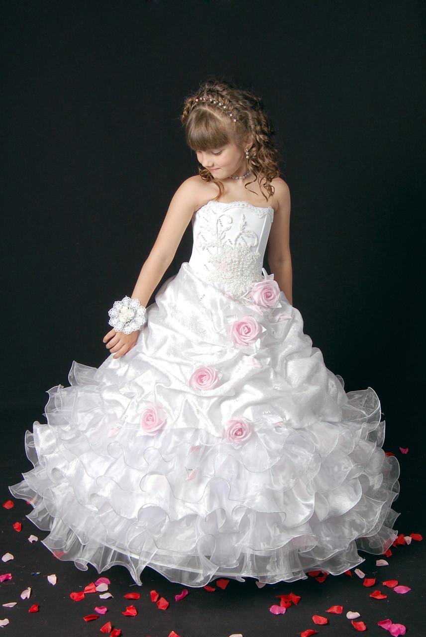 f49d2f2be8f Детское белое пышное платье - BAYKAR ДЕТСКОЕ БЕЛЬЕ в Днепре