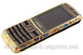 Копия Nokia Vertu, Herems C19  - стильный женский телефон, 1sim new, фото 2