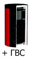 Теплоаккумулятор d 25мм ЕАI-10-2000-2/180 KUYDYCH ГВС 1 т/о нерж. сталь в изоляции
