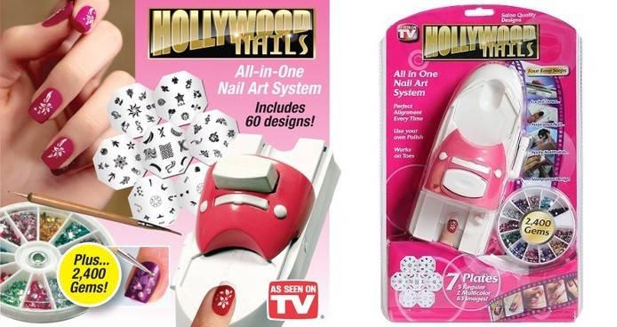 Набор для маникюра Hollywood nails, фото 2