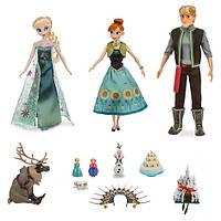 Интерактивный набор кукол Холодное Сердце - Поющие Эльза и Анна, Кристоф, питомцы и аксессуары