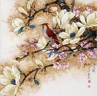 """Обзор набора алмазной вышивки """"Птица на ветке"""" KLN (арт.009)"""