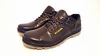 Мужские кожаные туфли больших размеров 46,47,48,49 Columbia, фото 1