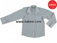 Белая рубашка для мальчика 4-5-6-7 лет