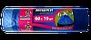 Мусорные пакеты синие с затяжками 60 л 10 шт  Добра Господарочка, фото 2