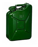 Металлическая канистра для бензина 10 литров BPS