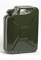 Металлическая канистра для ГСМ 20 литров BPS