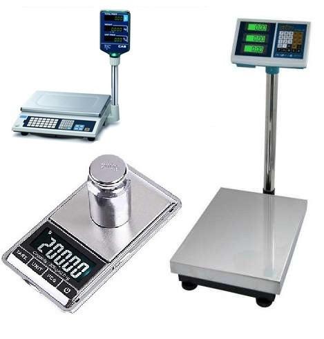 Весы. Товары и услуги компании