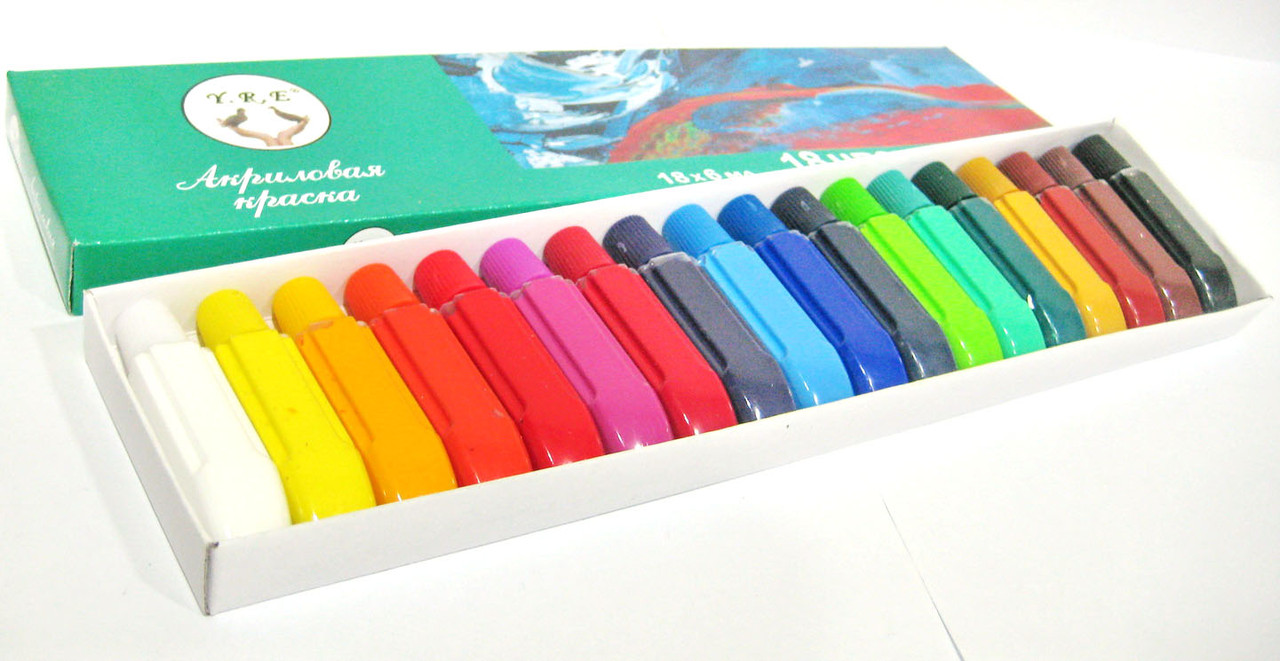 Как выглядят акриловые краски для ногтей 21