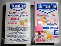 Жидкость от комаров Чистый Дом детская  30 ноч для фумигатора
