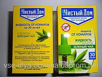 Жидкость от комаров  оптом 30 ночей зеленый чай