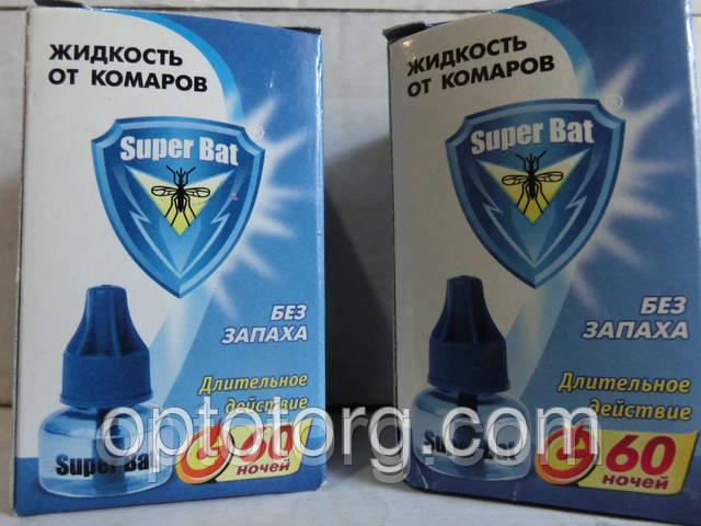 Жидкость от комаров 60 ноч Супер бат оригинал