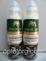 Голд Каре Gold Care краска для обуви замши и набука черный