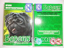 Капли на холку от блох и клещей Барсик для собак 4 дозы