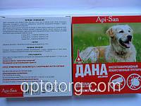 Дана капли на холку для крупных собак от блох и клещей