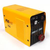 Инвертор Росвелд ММА-250, 220 В, ток 20-250 А, электроды 1,6-5,0 мм, вес 3,5 кг BPS