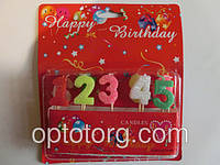 Свечи для торта цифры набор