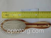 Расческа для волос массажная SALON PROFESSIONAL бамбук