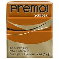 Sculpey Premo Премо (США, Полиформ), 56 г,жженая сиена 5392