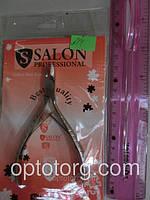 Кусачки маникюрные SALON PROFESSIONAL с удлиненным лезвием