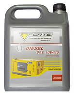 Масло моторное FORTE DIESEL SAE 10W-40 полусинтетическое для дизельных двигателей 5 л