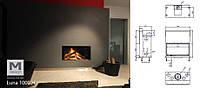 Топка каминная M-Design LUNA 1000H Classic