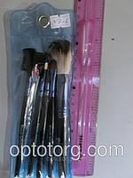 Кисти для макияжа  SALON PROFESSIONAL набор 5штук