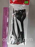 Кисти для окрашивания волос SALON PROFESSIONAL набор 3 штуки