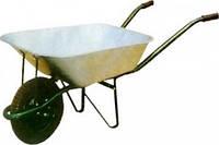 Тачка садовая одноколесная с упором Forte WB6203, объем вода/песок 65/140 л, грузоподъемность 150 кг BPS