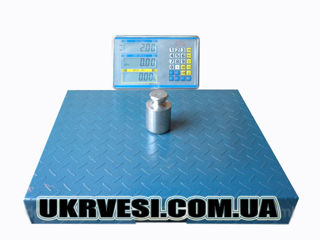 Весы товарные Oxi (300 кг) беспроводные ― ukrvesi.com.ua