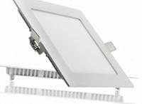 Светодиодный светильник квадрат LEDEX  9W 4000К