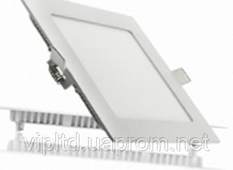 Светодиодный светильник LEDEX квадрат 3 Вт  3000 К