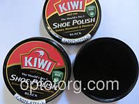Крем для обуви Киви Kiwi черный оригинал шайба